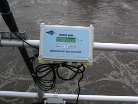 dissolved oxygen for waste water process
