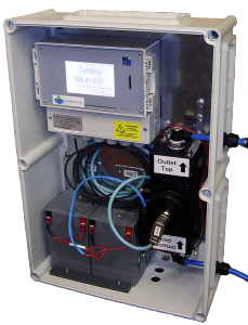 mains flushing portable turbidity prototype